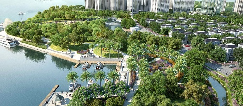 Điểm nhấn của khu đô thị Vinhomes Central Park